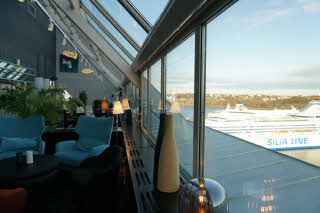 sky bar of scandic ariadne in stockholm sweden