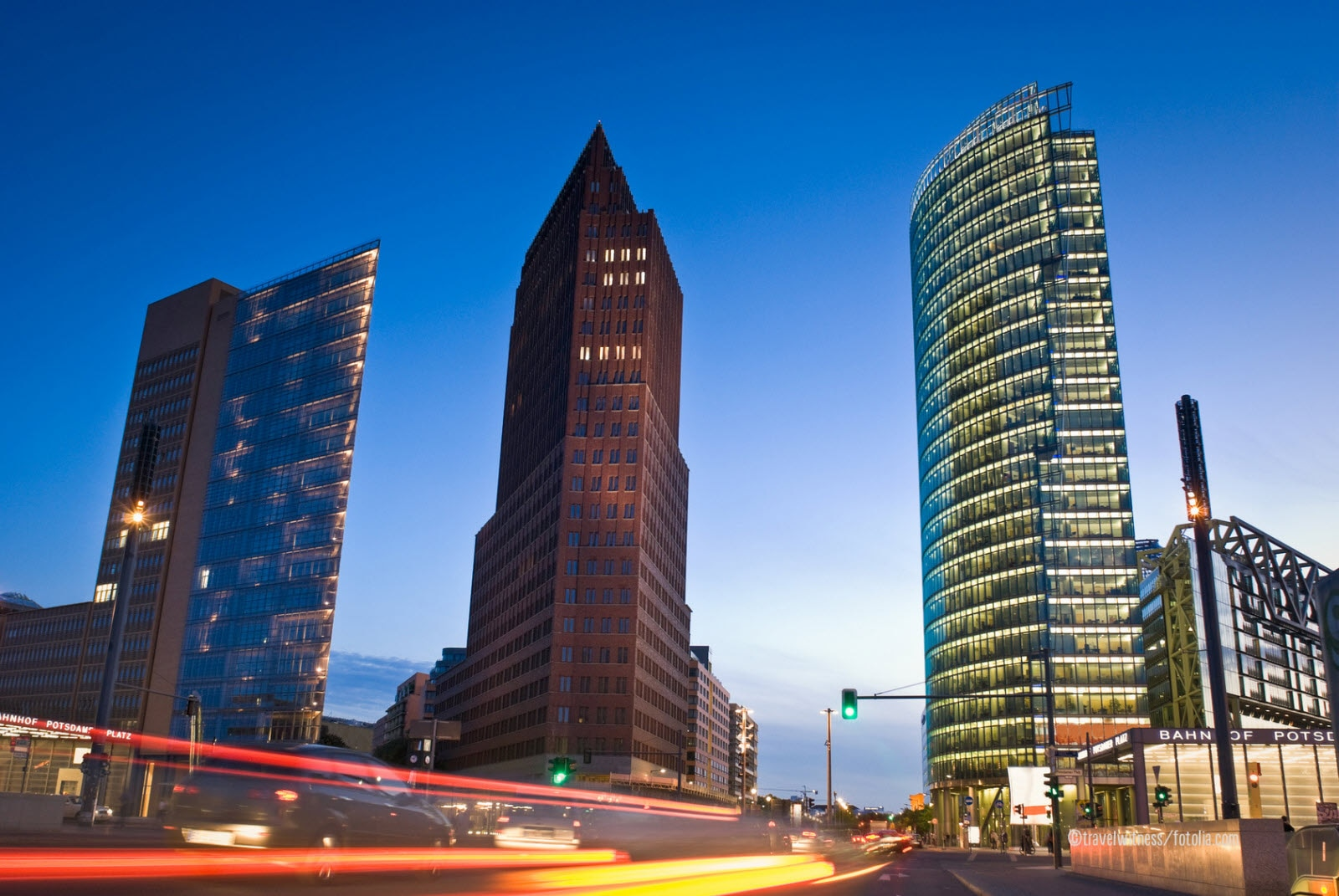 Skyscrapers of the Potsdamer Platz