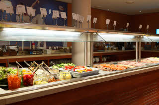 Breakfast, Buffet, Restaurant, Interior