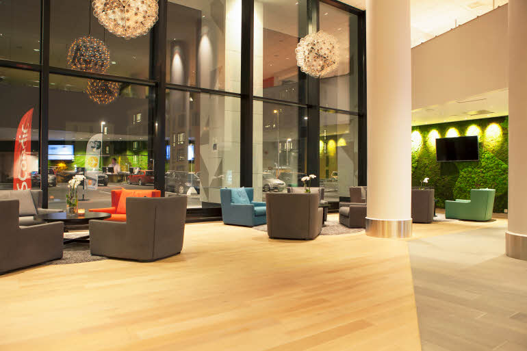 Scandic Lerkendal, reception, lobby