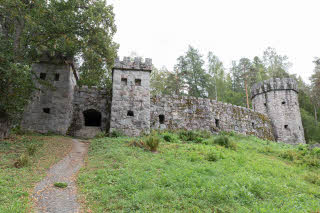 Castle ruins in Aulanko