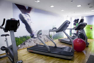 Gym of Scandic Paasi in Helsinki