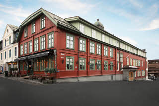 facade of scandic victoria lillehammer in norway