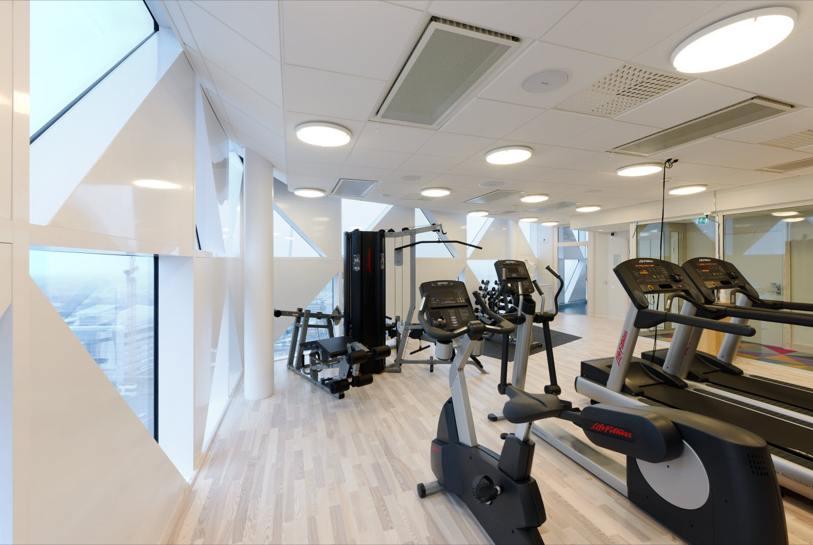Scandic Victoria Tower, gym