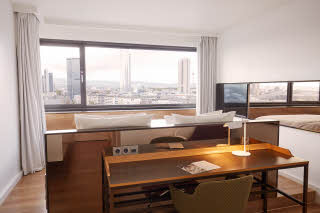 room superior best view at scandic frankfurt museumsufer in germany