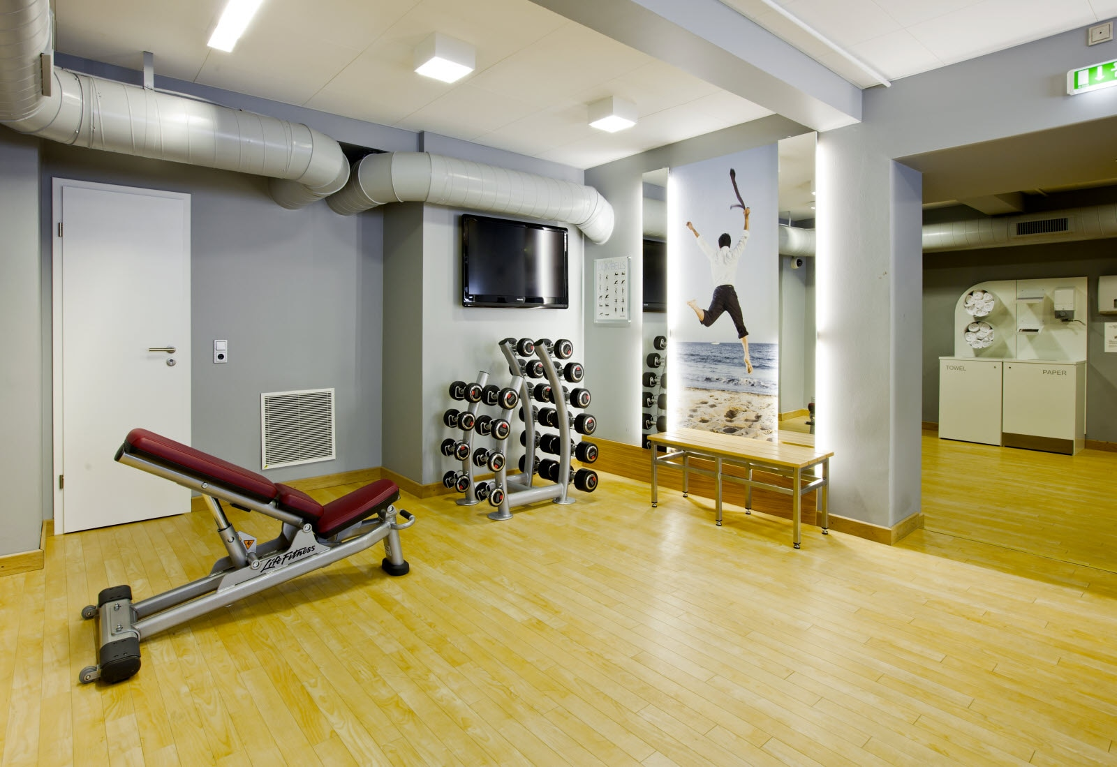 Scandic Palace Hotel Copenhagen, fitness gym