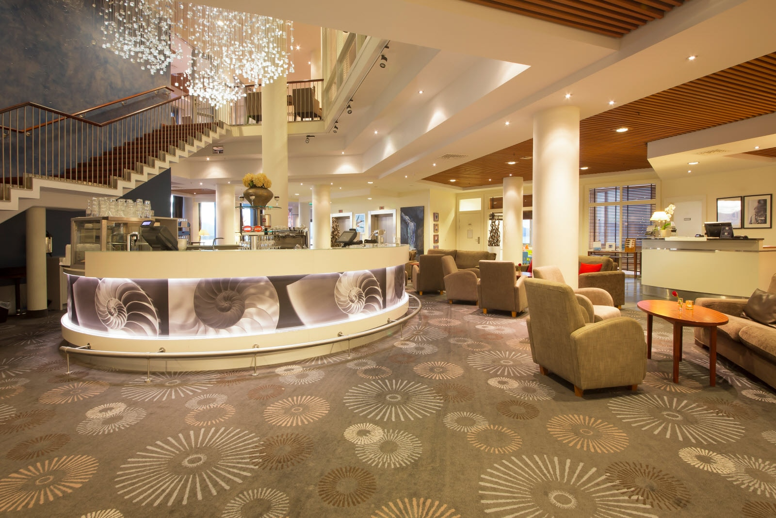 Scandic Seilet, Molde, lobby, bar, lounge