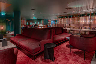 lobby and bar living room marski by scandic hotel helsinki city centre finland