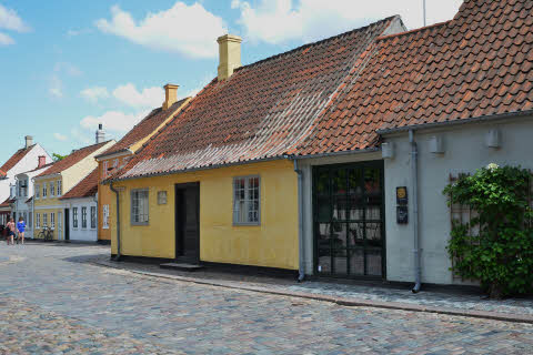 Hans Christian Andersen's house in Odense