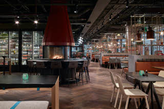 Restaurant of Downtown Camper by Scandic in Stockholm