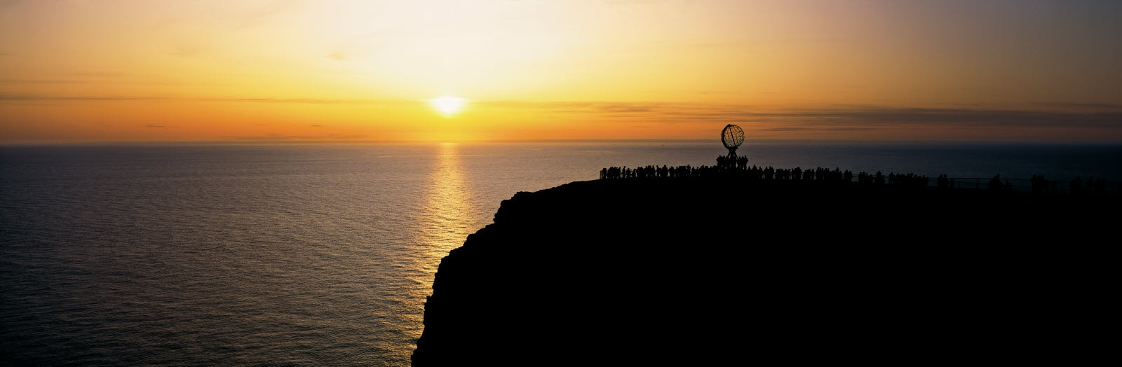 Midnightsun at North Cape