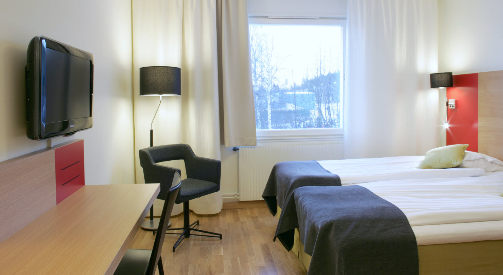 Ornskoldsvik, room, twin