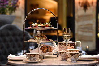 Grand Hotel Oslo by Scandic, afternoon tea, Palmen, Norway