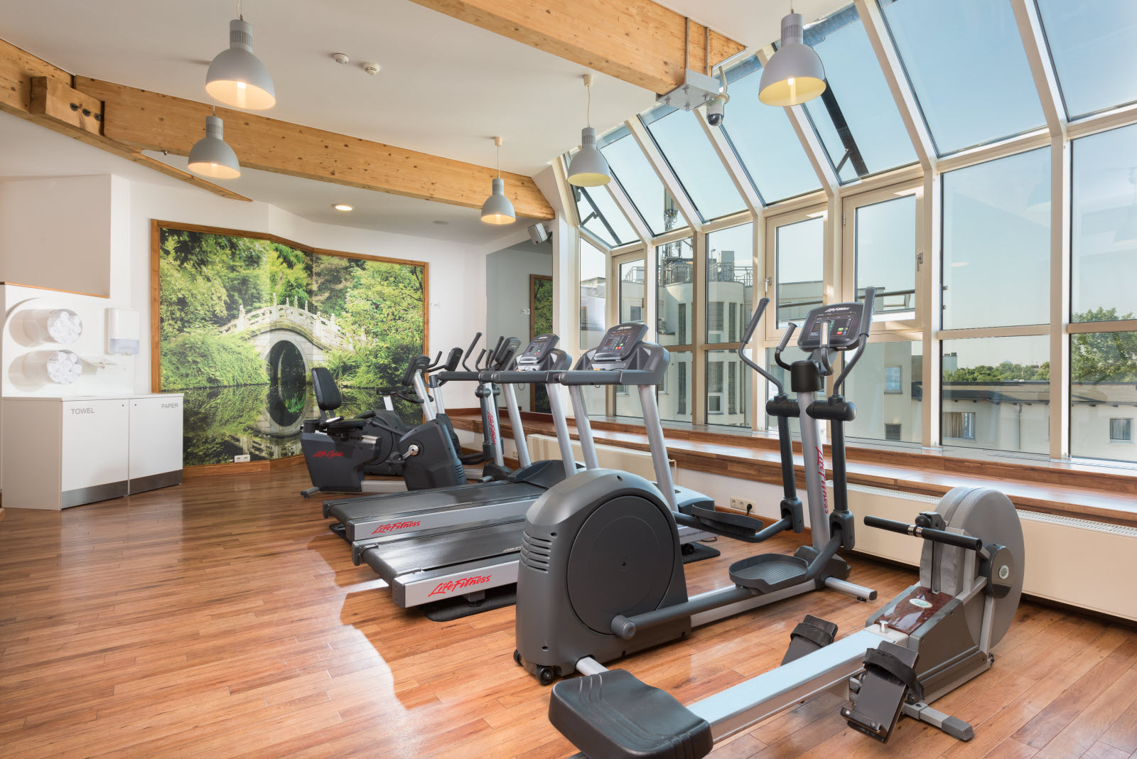 Hotel Scandic Berlin Kurfürstendamm, Gym Hotel Berlin, Wellness Hotel Berlin