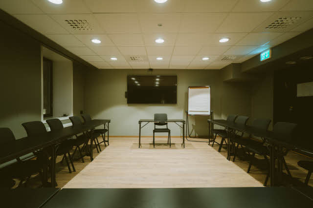 meeting room at scandic grand tromso in norway