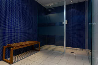 Scandic Helsfyr, Oslo, sauna, shower