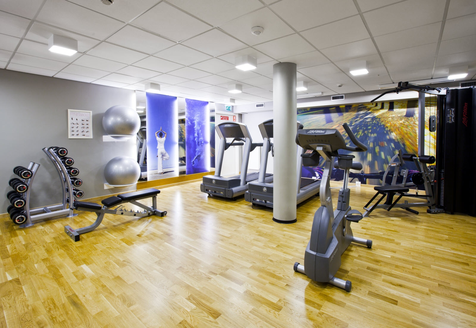 Fitnessrum, Scandic Ringsted