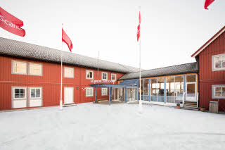 Scandic Svolvaer, exterior, entrance