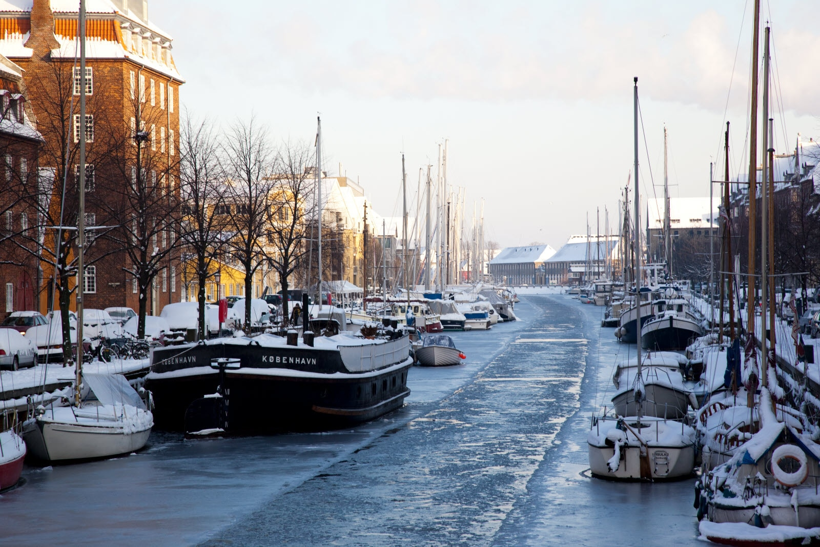 Vinter på Christianshavn