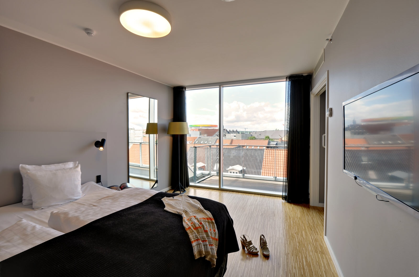 Scandic Aarhus City, Junior Suite, bedroom