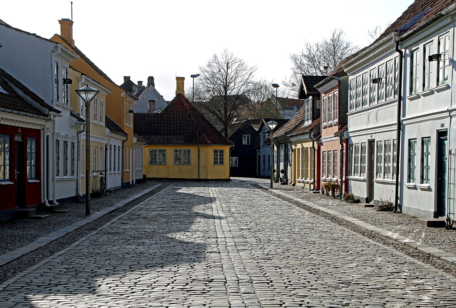 naturlig odense gamle by