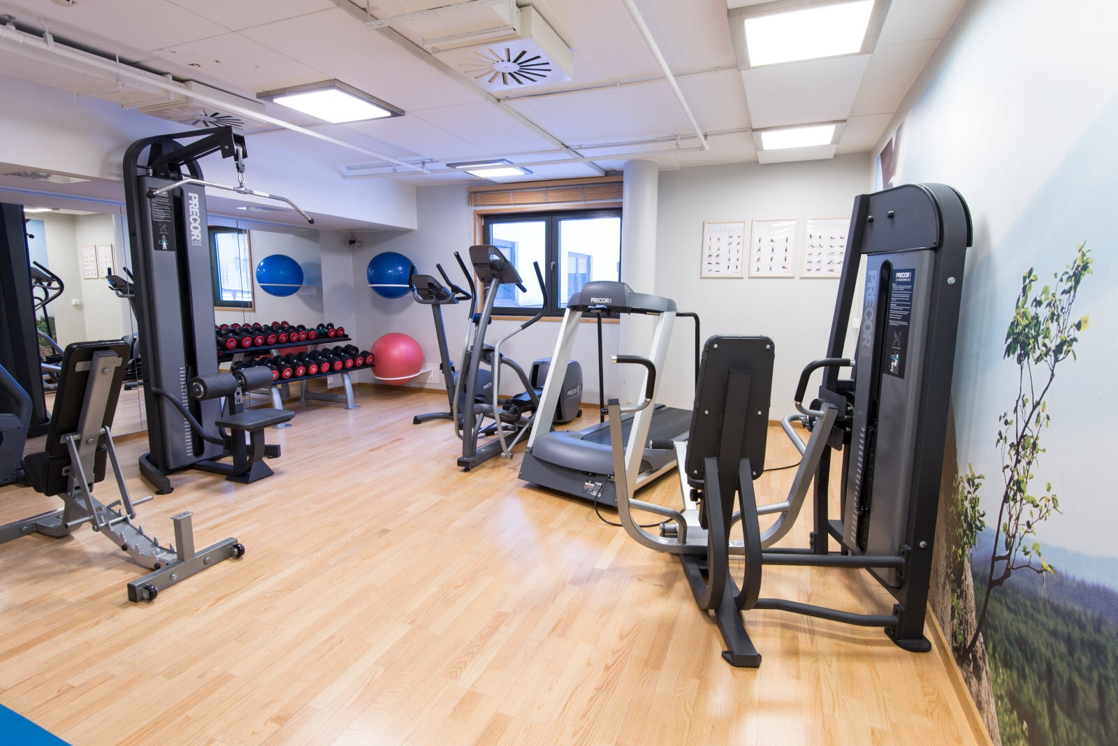 Scandic Tampere City, gym