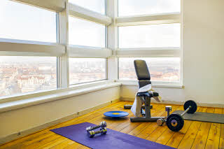 Scandic Triangeln, gym