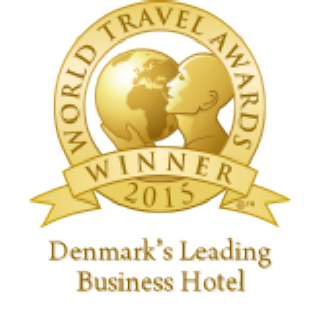 Scandic Palace Hotel er Denmark's Leading Business Hotel 2015