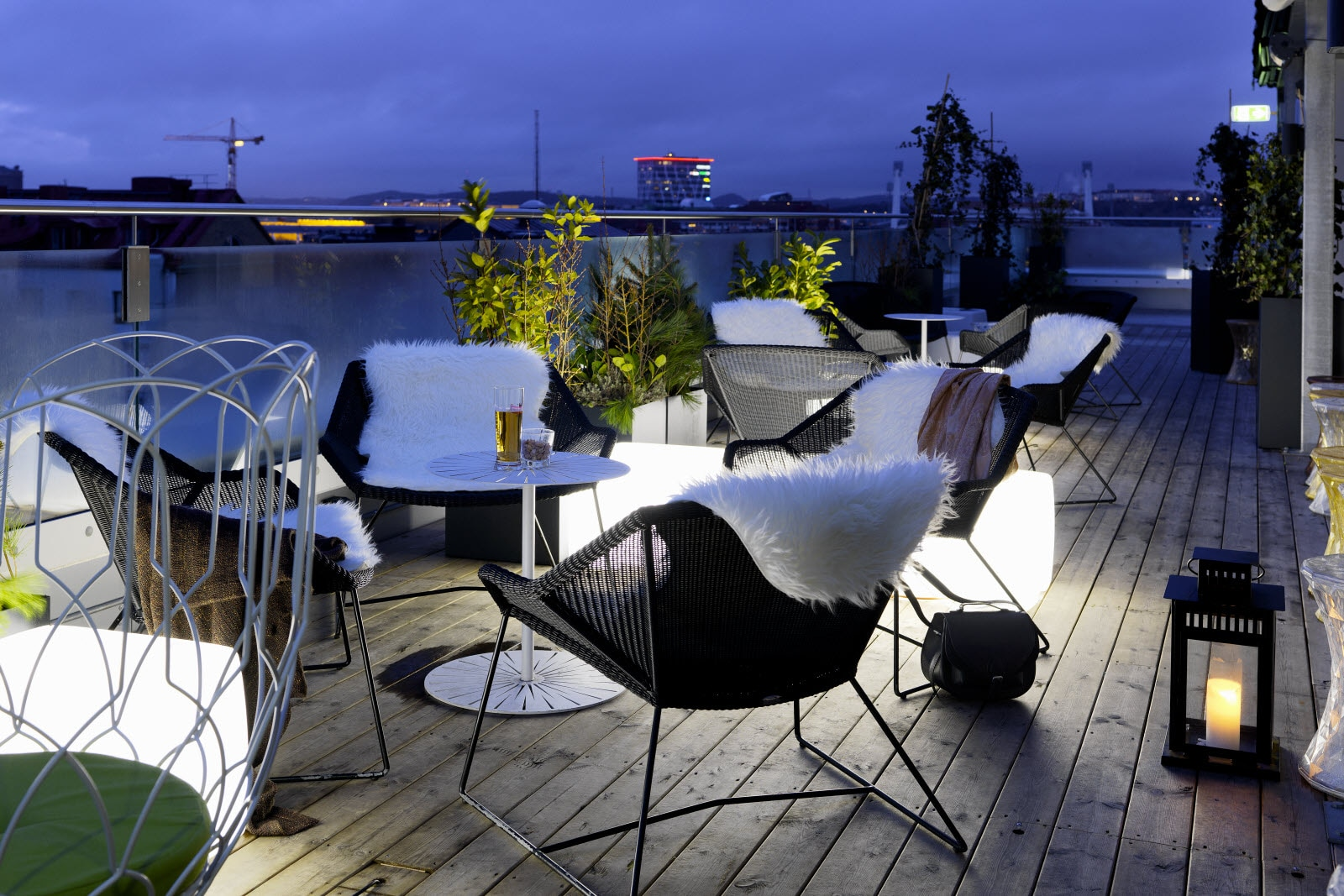 Scandic Rubinen, Roof top bar