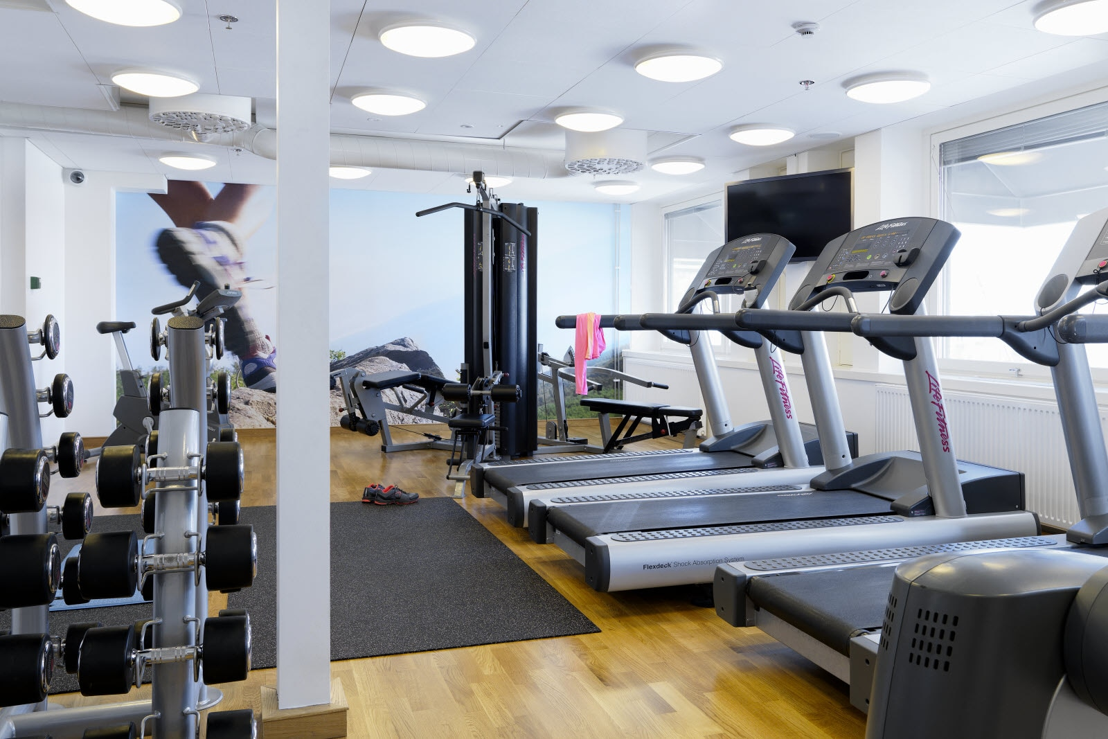 Scandic Rubinen, gym