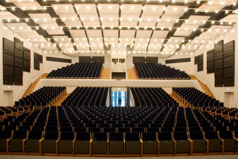 Den store sal i Ringsted Kongrescenter