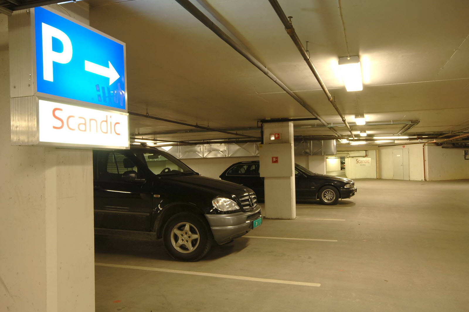 Scandic Solsiden, parking