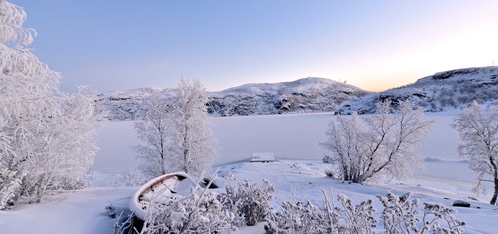 Winter in Kirkenes