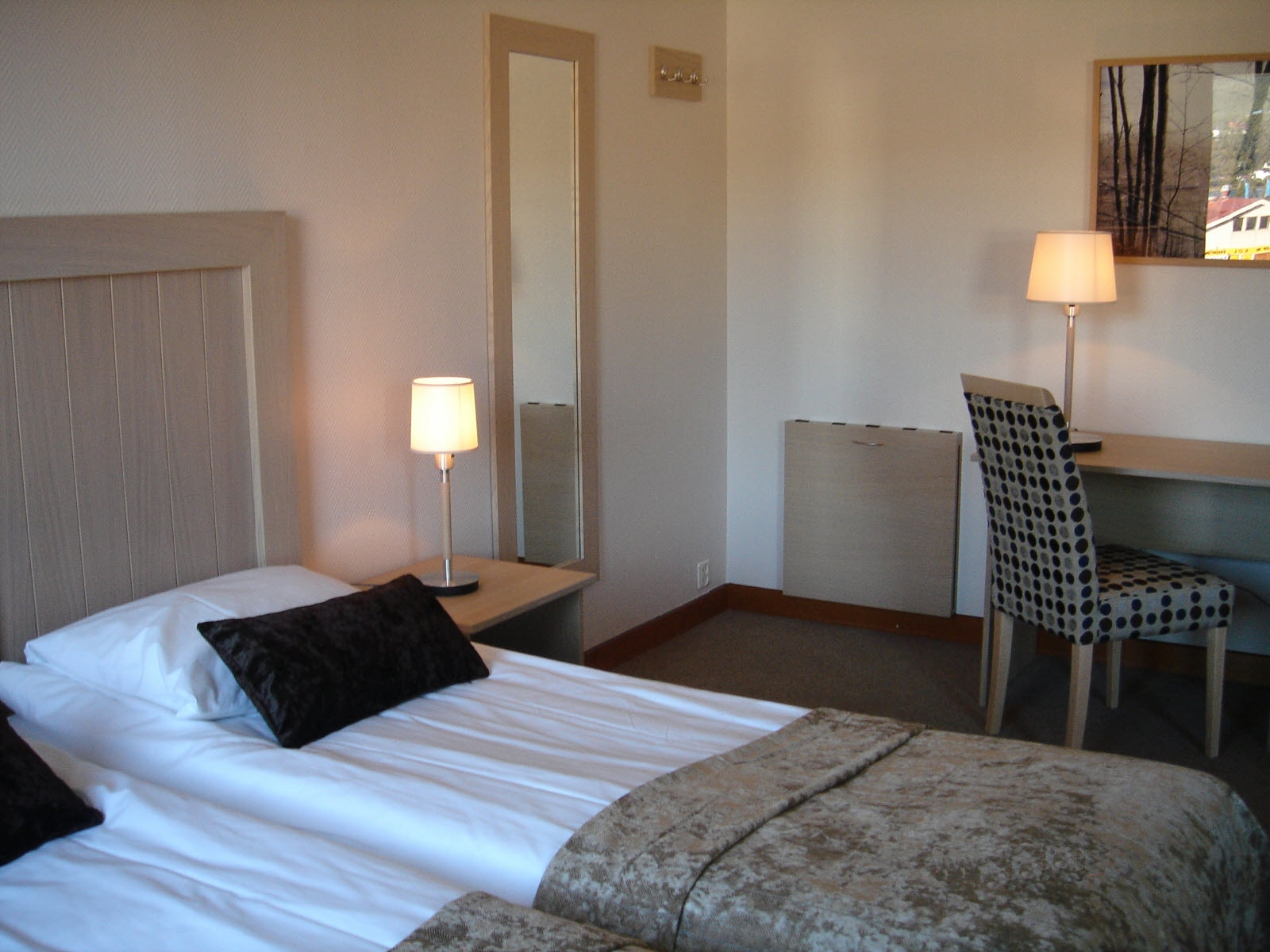 Fauske Hotell, room